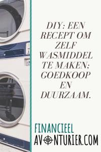 DIY recept zelf wasmiddel maken